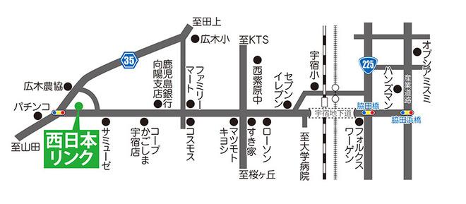 事務所案内 地図